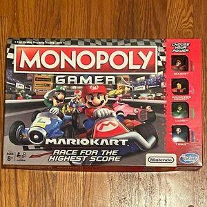 Monopoly Gamer Mario Cart Game